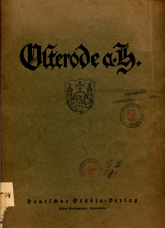 Osterode am Harz - Osterode (Stadt) - Bibliographie - Archiv