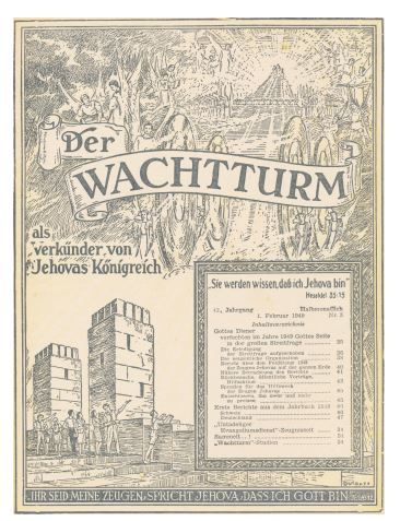 Jehovas Zeugen Archiv Vegelahn 2017